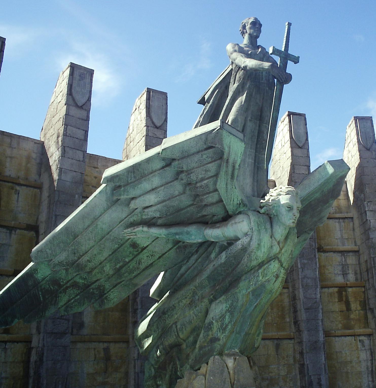 El conocido como «Monumento a Franco» en Santa Cruz de Tenerife