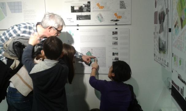 Imágenes de la exposición de los proyectos
