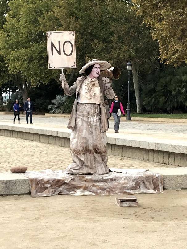 Estatua de  «La Activista»