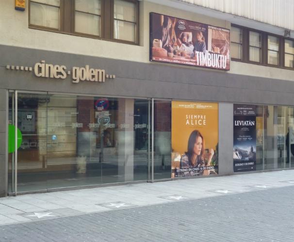La calle del cine