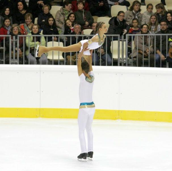 Un giro al patinaje