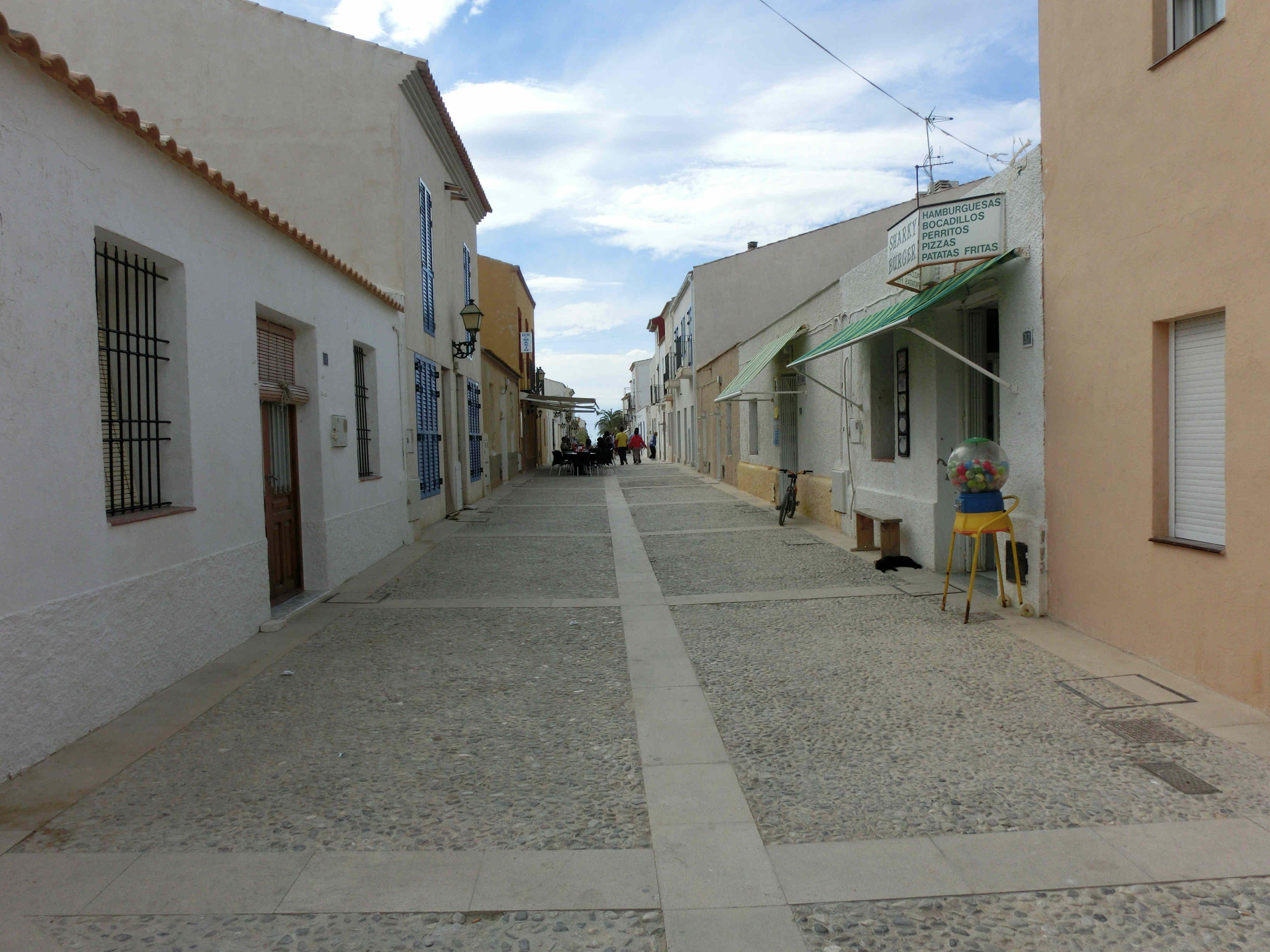 Las calles de la isla