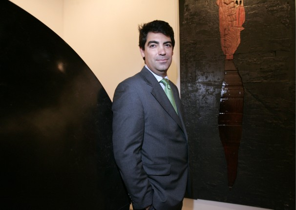 Álvaro Alcázar, dueño de la galería homónima