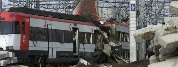 Uno de los trenes de la bomba de Téllez en el 11-M Foto: Jaime García/ABC