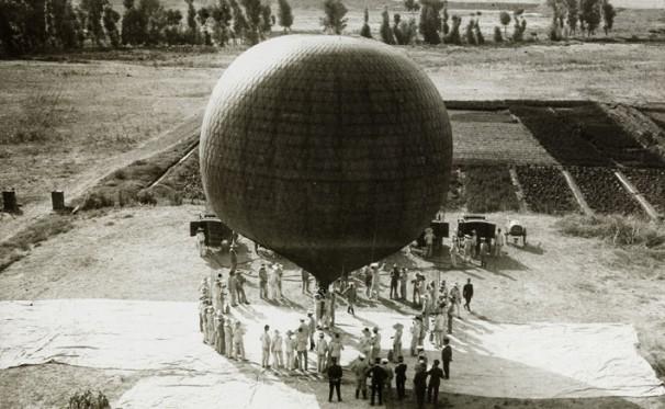 Ensayos con globos libres
