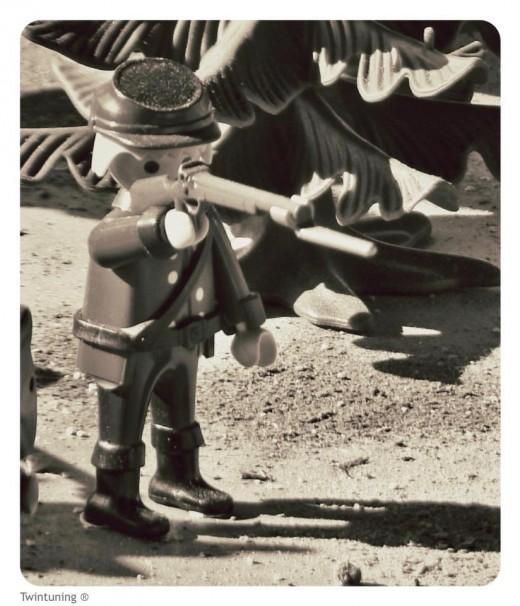 Soldado playmobil de Miguel