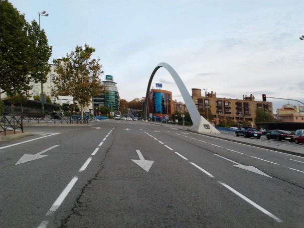 Entrada al barrio de Ventas a través de la calle de Alcalá