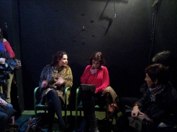 Carolina Clemente y Anitta Rock en La depredadora