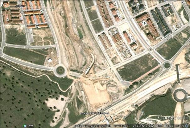 Imagen histórica de Google Earth