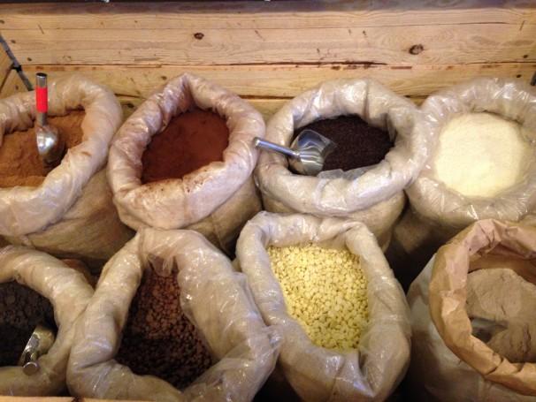 Cacaos y cereales de Casa Ruiz. Foto: CV