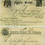 Carta de Miguel Hernández a José María de Cossío desde la cárcel de Torrijos. Foto: ABC.