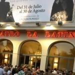 Fachada del Teatro La Latina. Foto: Maya Balanya