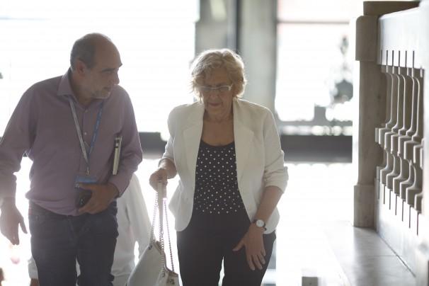 La alcaldesa de Madrid, Manuela Carmena, en una imagen de archivo. Foto: José Ramón Ladra