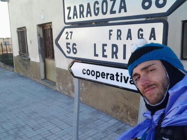 Germán Retuerta iniciativa caminando 19 días