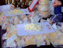 Variedades de quesos de oveja y de cabra. Foto: Patricia Balbontín