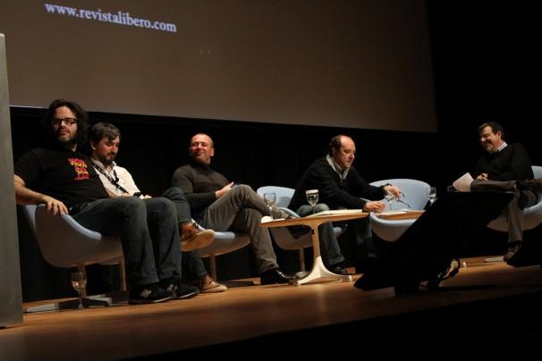 Jesús Maraña durante la mesa de periodismo emprendedor. Foto: Falua Comunicación