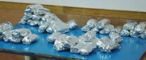 Bokatas envueltos en papel de plata, listos para repartir