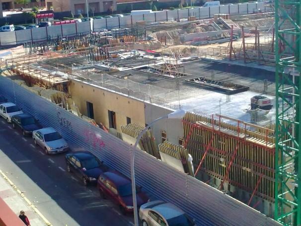 Vista desde una terraza de la zona que abarca el CREAA