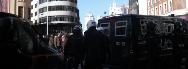 Varios antidisturbios en Callao