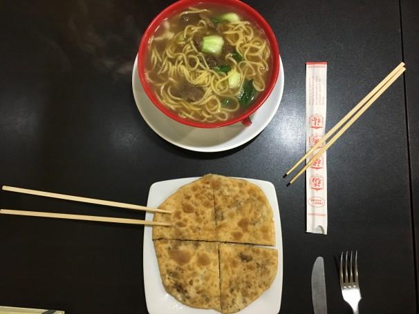 Pasta típica hecha a mano en el restaurante Jin Jin