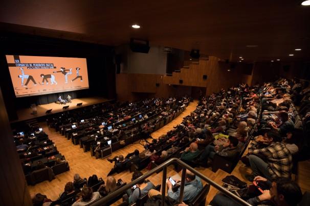 Palacio de Congresos de Huesca. Foto: Javier Broto / Congreso de Periodismo de Huesca
