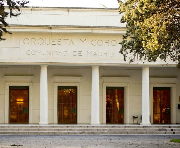 Sede Orquesta y Coro Comunidad de Madrid en Hortaleza/Foto: ORCAM