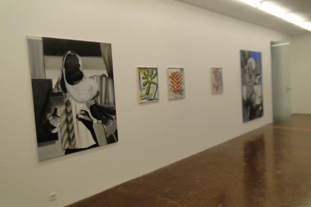 Obras expuestas en «NF» | Fotografía: Alex Jiménez