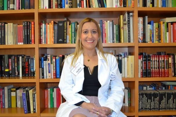 Nuria Muñoz Gallardo, psicóloga del Centro Albertia Moratalaz