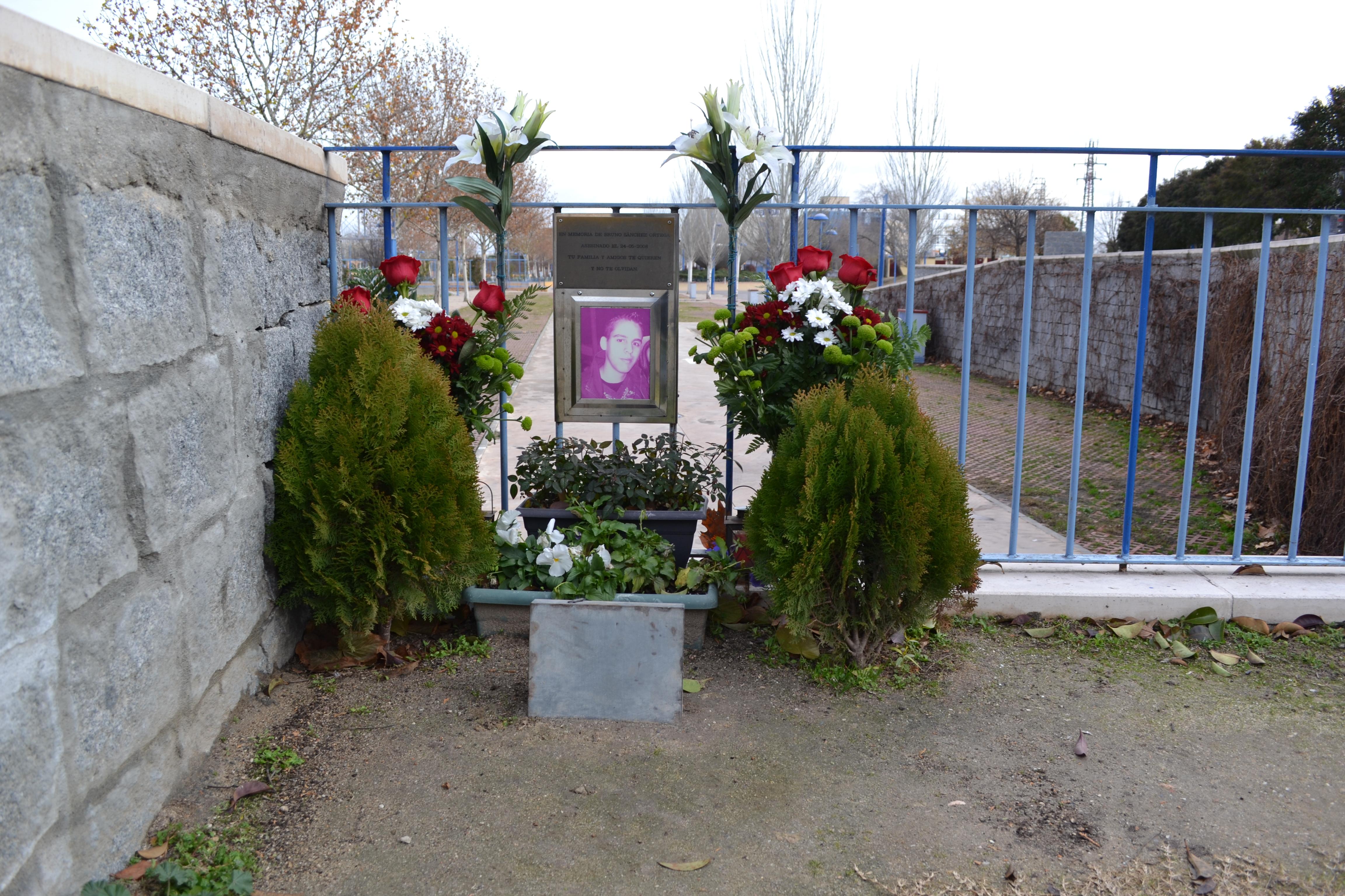 El altar de Bruno Sánchez