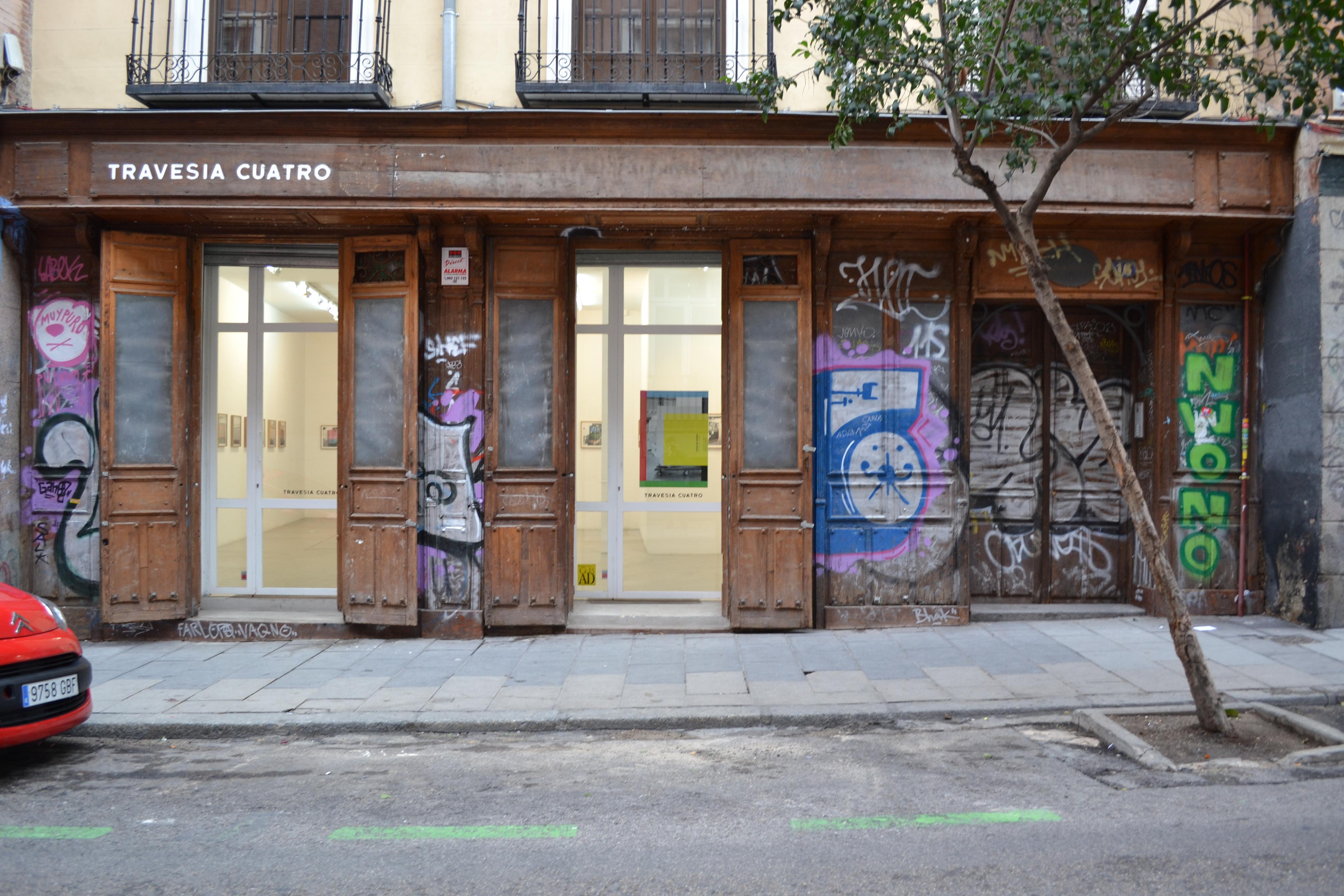 Galería Travesía Cuatro, en la calle San Mateo, 16 (Madrid). Foto: Unai Mezcua