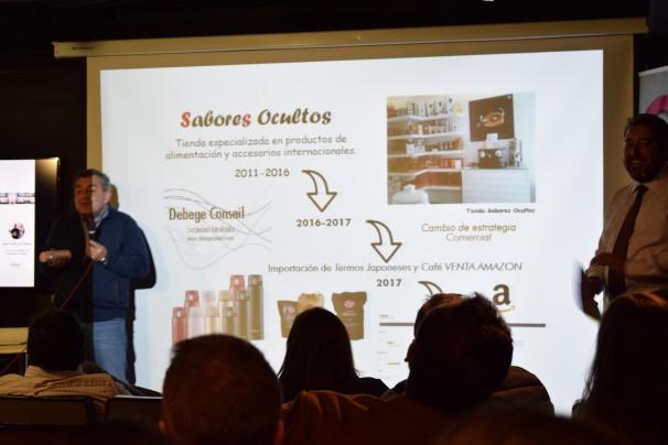 Juan Carlos De Bunges, creador de Sabores Ocultos Foto: J. A.