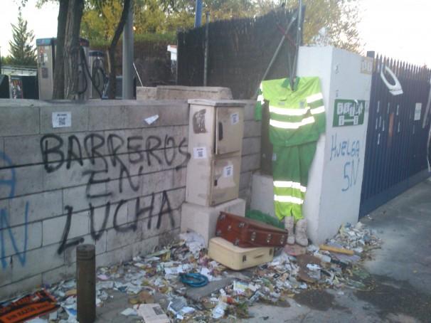 La huelga de basuras duerme