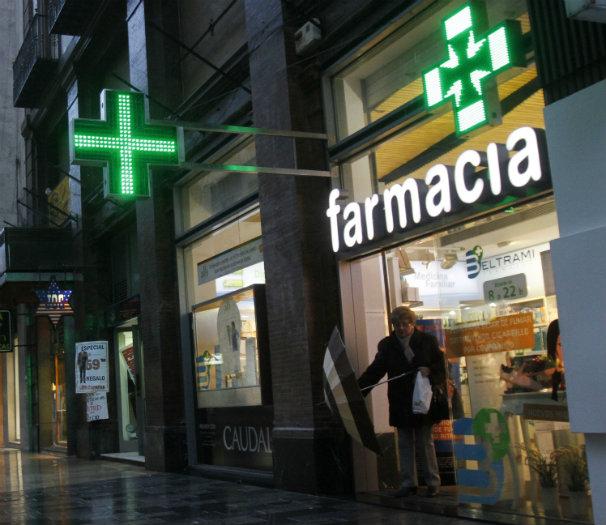 La receta electrónica ha hecho mella en las farmacias y en los consumidores. Foto: ABC