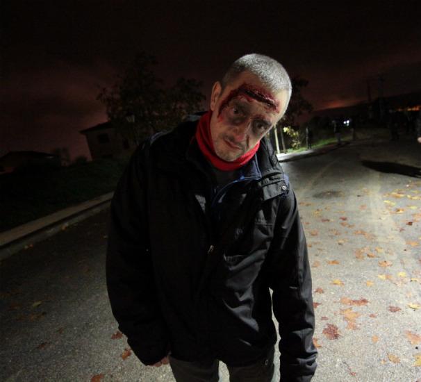 Un paseo zombie por Quijorna. Foto: Pepe Añón