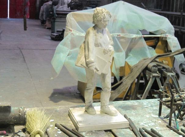 Escultura San Ildefonso