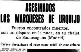 Aviso fúnebre de los Marqueses