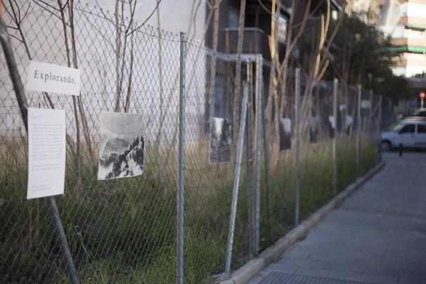 Exposición de fotografías de Cynthia Estébanez en la calle Veza Foto: Cynthia Estébanez