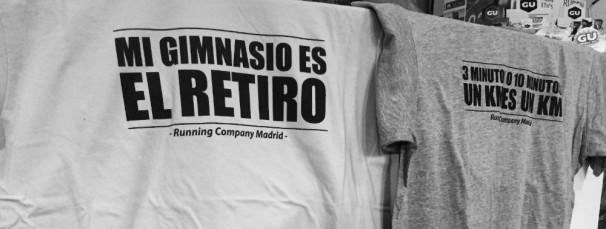 Camisetas de entrenamiento de Madrid Running Company. Foto: Esther Blanco