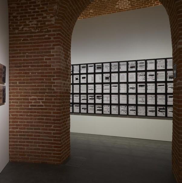La obra «Guernica. Picasso comunista», en las catacumbas del Congreso. Foto: Museo Reina Sofía