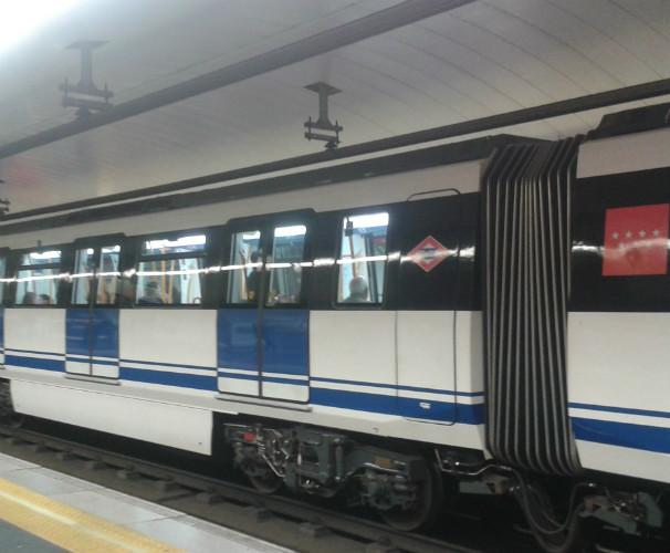 Vagones del metro de Madrid. FOTO: T. G.