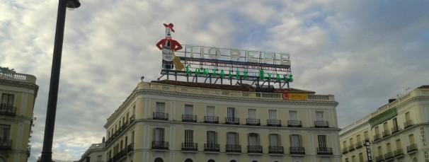 Puerta del sol, en el centro de Madrid. FOTO: T.G.