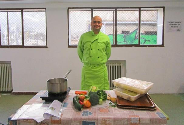 El cocinero Jaime Gómez Gala