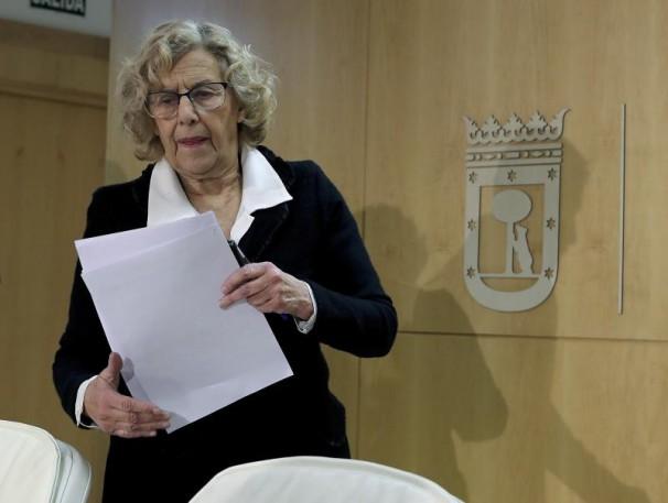 La alcaldesa de la ciudad de Madrid, Manuela Carmena Foto: EFE/