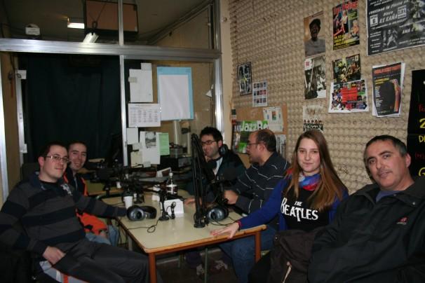 Radio Arrebato y colaboradores