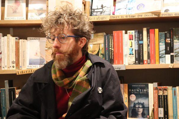 Terry Craven, uno de los socios de «Desperate Literature» Foto: María Ñacle