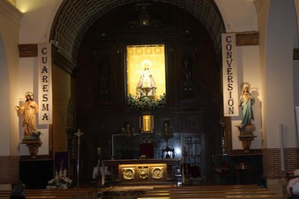 Virgen de la Paz en Alcobendas. Foto: Loreto Sánchez Seoane
