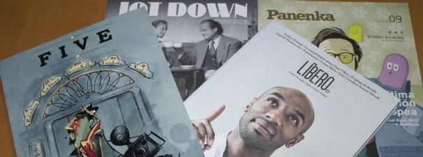 Líbero, Penenka, Jot Down y FIVE son algunas de las publicaciones que se han hecho un hueco en el mercado. Foto: V.R.A