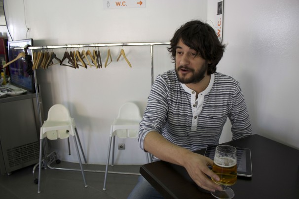 Manuel Jabois no se irá a Madrid. De momento. Fotos: V.R.