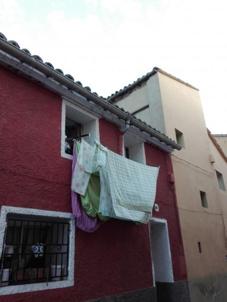 Detalle de una fachada oscense - FOTO: Alfonso Armada