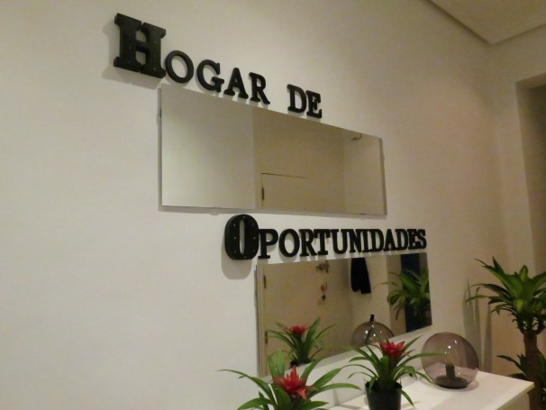 Por su objetivo, el piso donde viven Leo, Jesús y sus compañeros recibió el nombre de «hogar de oportunidades» (Foto: Camila Alvarenga)